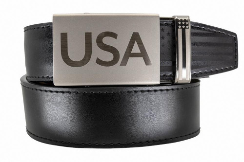 Nexbelt: Men's Super Patriot Belt - Black