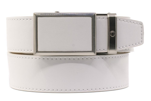 Nexbelt: Men's Go-In Traditions Belt - Smooth White