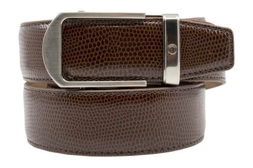 Nexbelt: Men's Aldrich Golf Belt - Brown