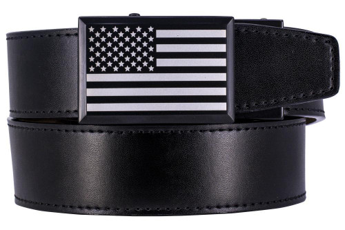 Nexbelt: Men's Heritage USA Series Golf Belt - Black