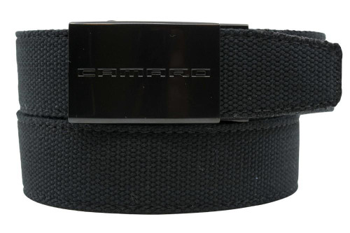 Nexbelt: Specialty - GM Camaro Canvas Ratchet Belt - Black