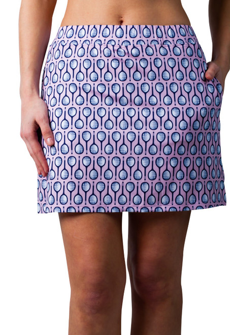 "SanSoleil: Ladies UPF 50 Sunglow 13"" Tennis Skort - 900215P"