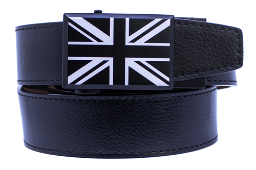 Nexbelt: Specialty - Great Britain Heritage Black Series Dress Belt - Black