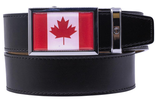 Nexbelt: Specialty - Heritage Canada Golf Belt - Black