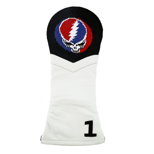 Smathers & Branson: Driver Headcover - Steal Your Face Needlepoint