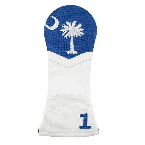 Smathers & Branson: Driver Headcover - SC Flag Needlepoint