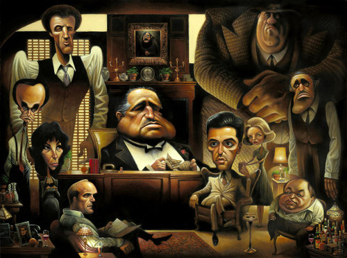 David O'Keefe: Fine Art Prints - A Tribute to The Godfather