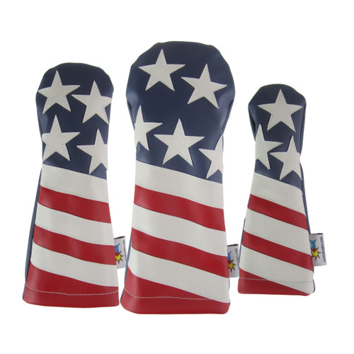 Sunfish: DuraLeather Headcover Set - The Liberty