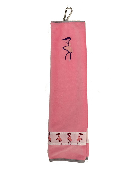 Taboo Fashions: Ladies Premium Players Towel - Pink