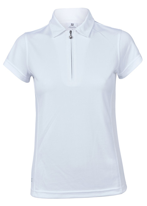 Daily Sports: Women's Macy Polo - White (Medium) SALE