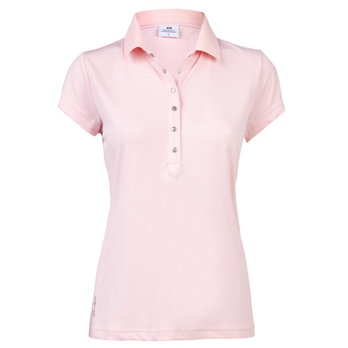 Daily Sports: Women's Mindy Polo Shirt - Blush (Medium) SALE