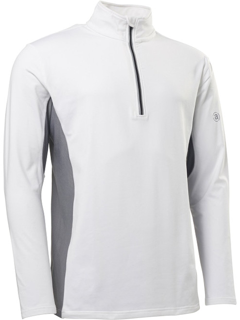 Abacus Sports Wear: Men's High-Performance 1/2 Zip - Ashby