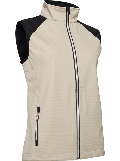 Abacus Sports Wear: Women's High-Performance Golf Softshell Vest - Arden