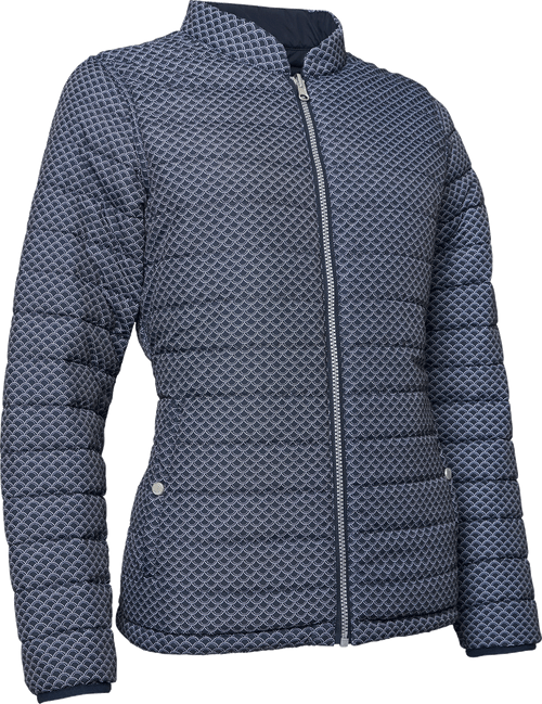 Abacus Sports Wear: Women's High-Performance Golf Padded Reversible Jacket - Etna