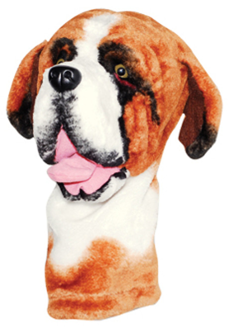 Noah's Animal Kingdom: Golf Club Headcovers - St Bernard