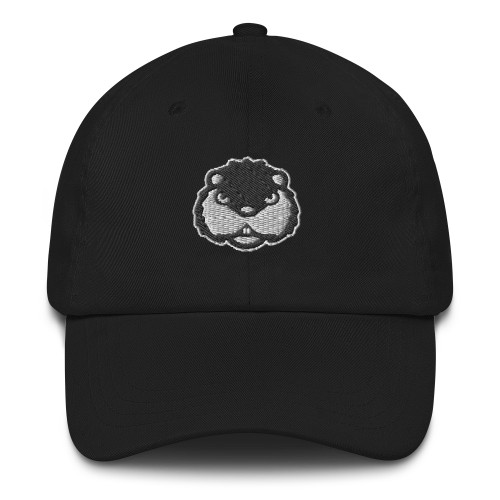 Dancing Gopher Embroidered Golf Hat with Adjustable Strap