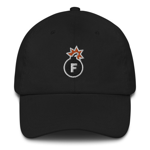 ReadyGOLF: F-Bomb Embroidered Dad Hat