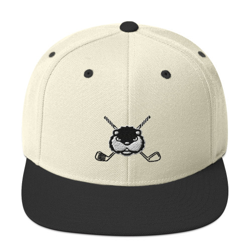 Dancing Gopher (Cross Clubs) Embroidered Snapback Hat