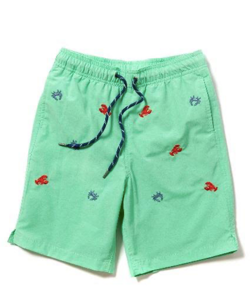Castaway Clothing: Boys Sandbar Swim Trunks - Size Medium - SALE