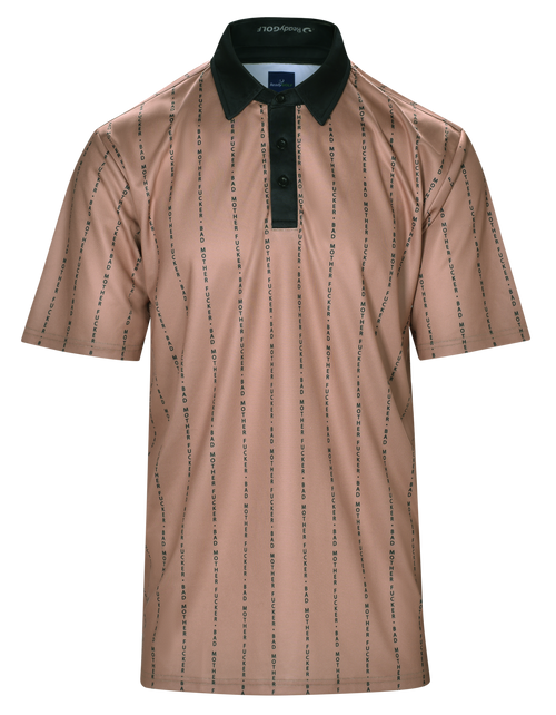 Bad Mother Mens Golf Polo Shirt by ReadyGOLF