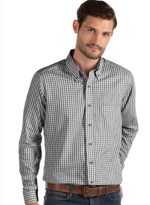 Antigua: Men's Essentials Woven - Structure 104227 Black/White (Size: XL) SALE