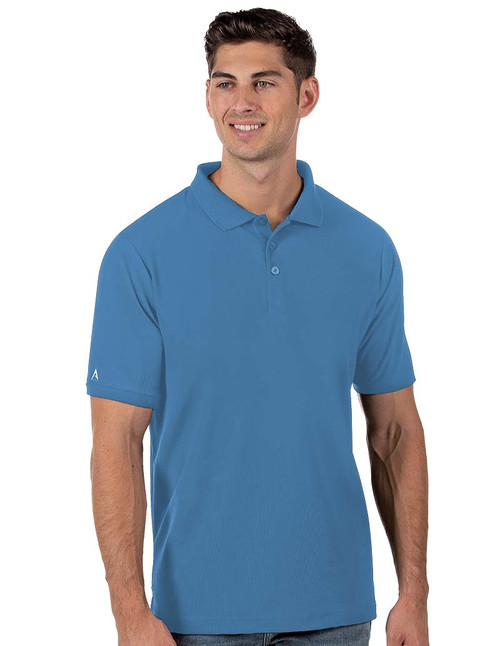 Antigua: Men's Essentials Short Sleeve Polo - Legacy Pique 104271