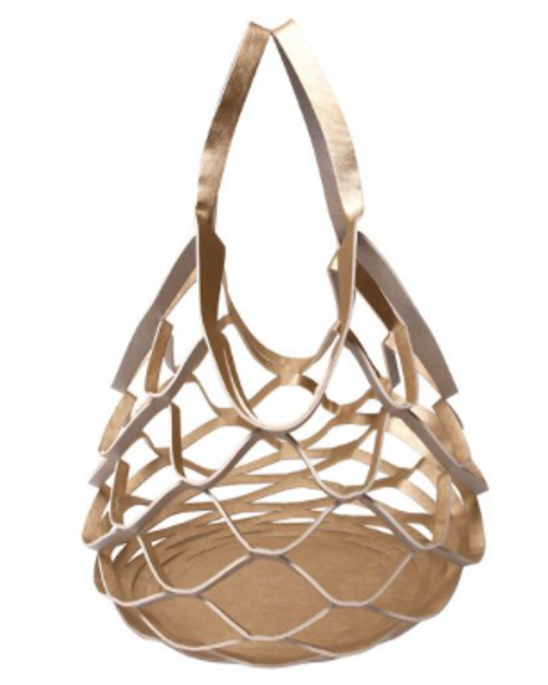 Physician Endorsed: Womens Reversible Metallic Tote -  Ananas
