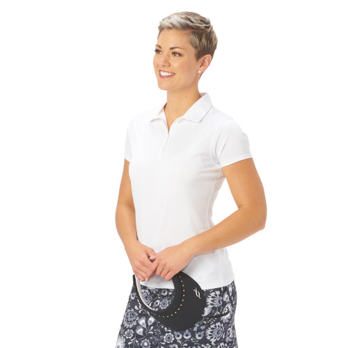 Nancy Lopez Golf: Women's Short Sleeve Polo - Legacy