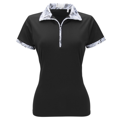 Nancy Lopez Golf: Women's Short Sleeve Plus Polo - Fever