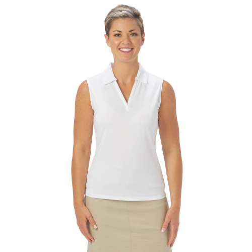 Nancy Lopez Golf: Women's Sleeveless Polo - Legacy