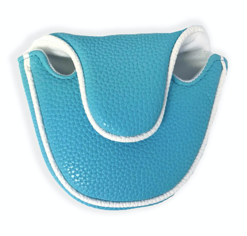 Just 4 Golf: Putter Cover Mallet Headcovers - Turquoise