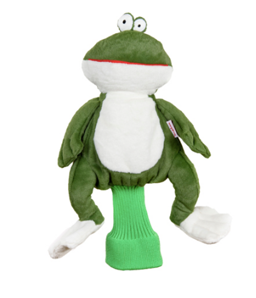 Daphne's HeadCovers: Frog Golf Club Cover