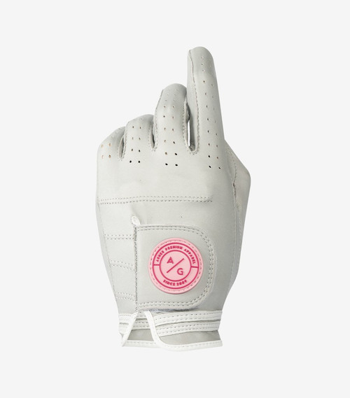 Asher Golf: Ladies Premium Golf Glove - Heather