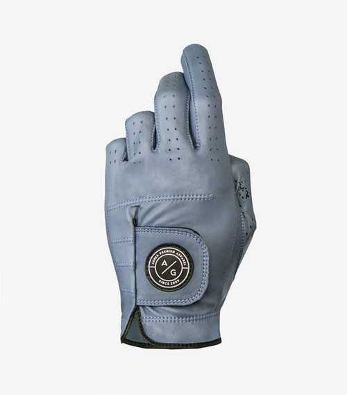 Asher Golf: Men's Premium Spring Collection Golf Glove - Flint Steel