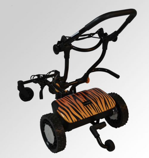 "CaddyTrek: R2 ""Wild Cat"" Electric Golf Cart"