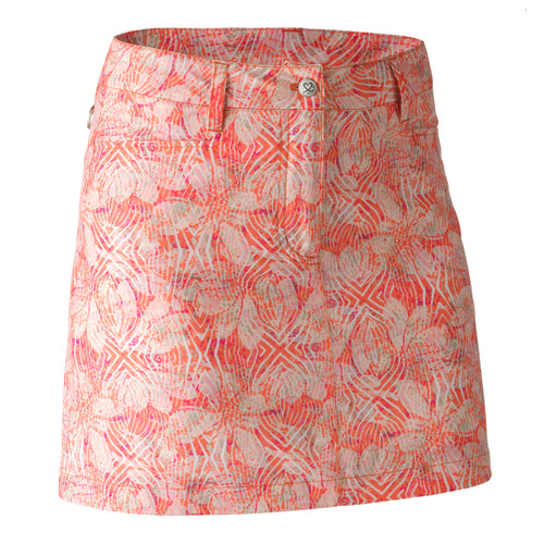 Daily Sports: Women's Louise Skort - Flame (longer style) (Size: 12) SALE
