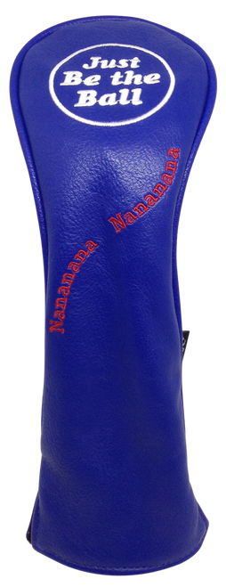 Just Be The Ball Embroidered Hybrid Headcover