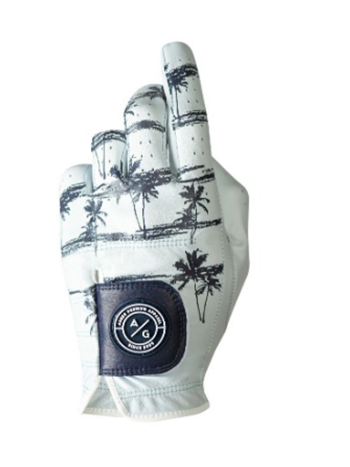 Asher Golf: Mens Premium Golf Glove -  Coastal Vibes
