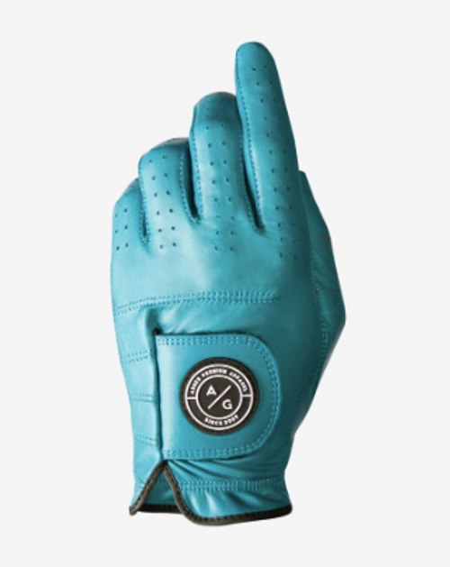 Asher Golf: Mens Premium Golf Glove - Ocean Breeze