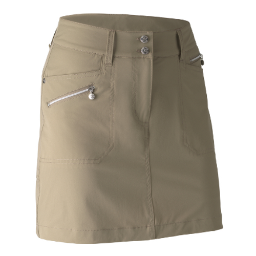 Daily Sports: Women's Holiday Miracle Skort - Almond (Longer Style) (Size: 12) SALE