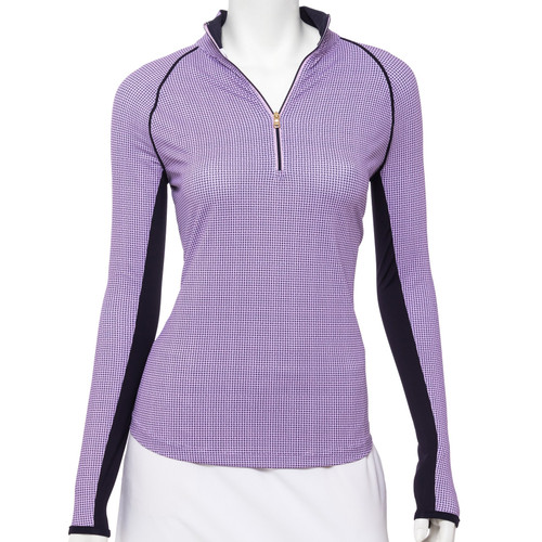 Fairway & Greene: Women's Finley Long Sleeve Zip Mock
