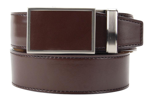 Nexbelt: Dress Belt Ratchet - Espresso Brown