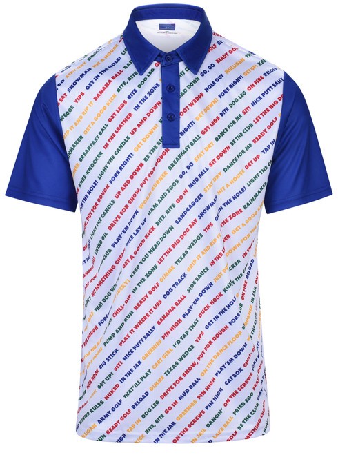 Golf Expressions Mens Golf Polo Shirt by ReadyGOLF