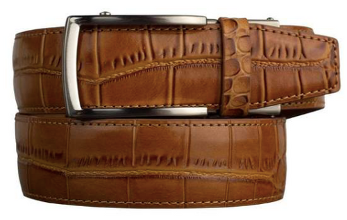 Nexbelt: Men's Alligator Series 2.0 Dress Belt - Tan