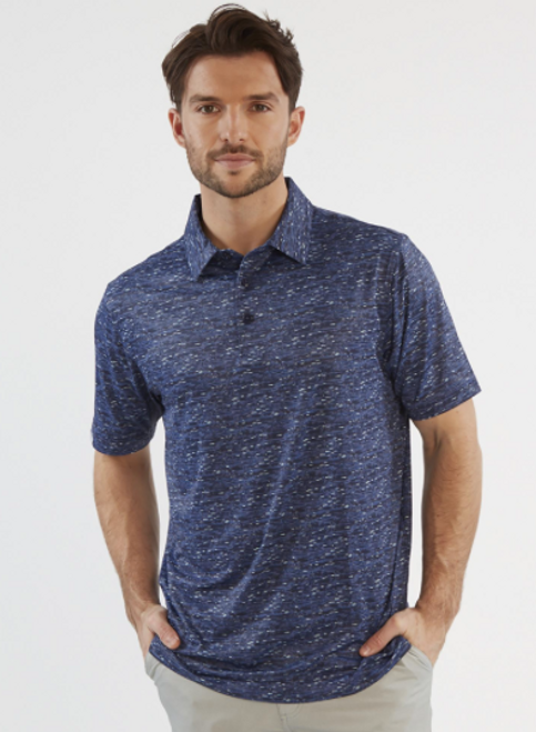 Chase 54: Men's Short Sleeve Polo - Reef