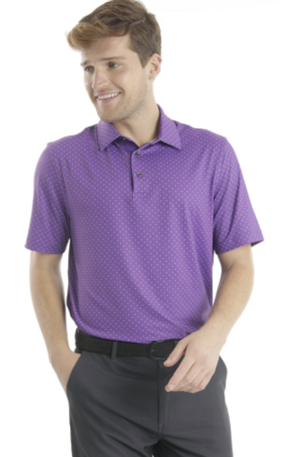 Chase 54: Men's Short Sleeve Polo - Starburst