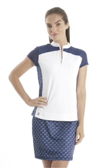 Chase 54: Women's Short Sleeve Polo - Topsail