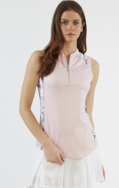 Chase 54: Women's Sleeveless Polo - Theory