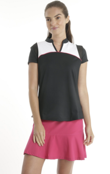 Chase 54: Women's Short Sleeve Polo - Coiled