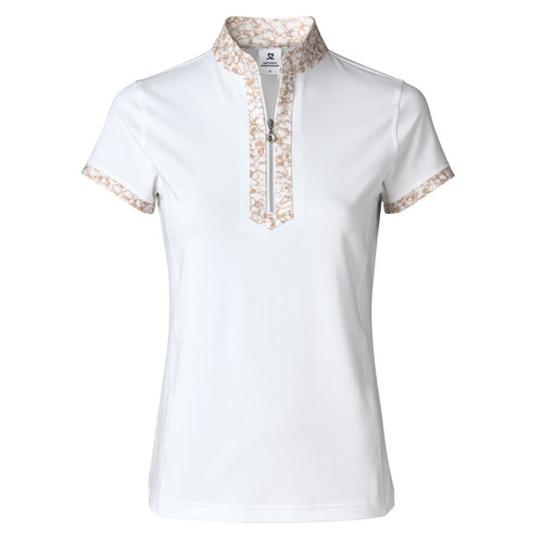 Daily Sports: Women's Nova Short Sleeve Polo - White (Size: X-Large) SALE